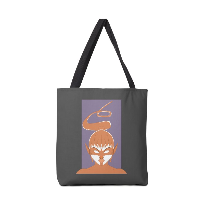 ELF GIRL Accessories Tote Bag Bag by droidmonkey's Artist Shop