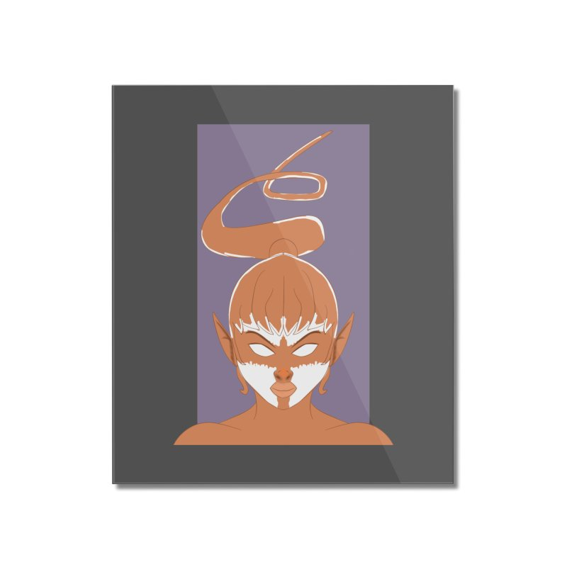 ELF GIRL Home Mounted Acrylic Print by droidmonkey's Artist Shop