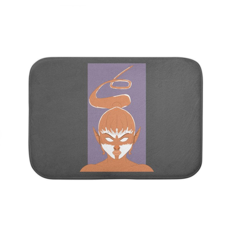 ELF GIRL Home Bath Mat by droidmonkey's Artist Shop