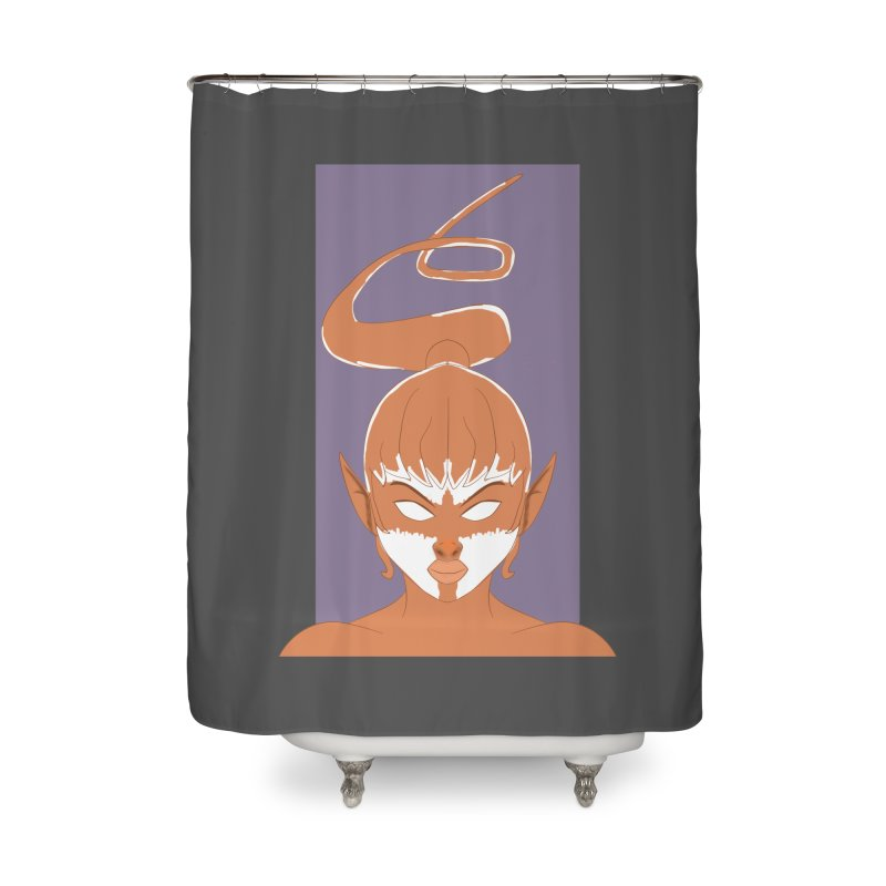 ELF GIRL Home Shower Curtain by droidmonkey's Artist Shop