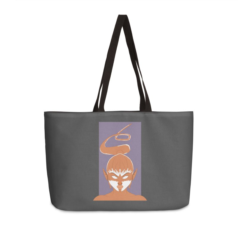 ELF GIRL Accessories Weekender Bag Bag by droidmonkey's Artist Shop