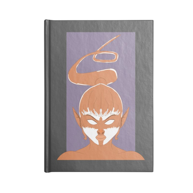 ELF GIRL Accessories Lined Journal Notebook by droidmonkey's Artist Shop