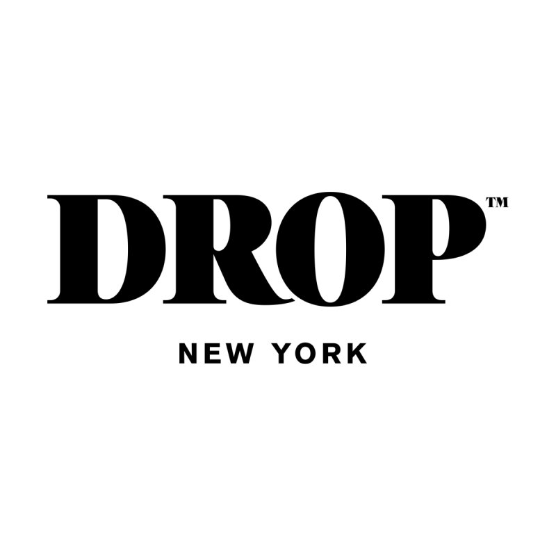 DROP Logo (Black) Men's T-Shirt by DROP