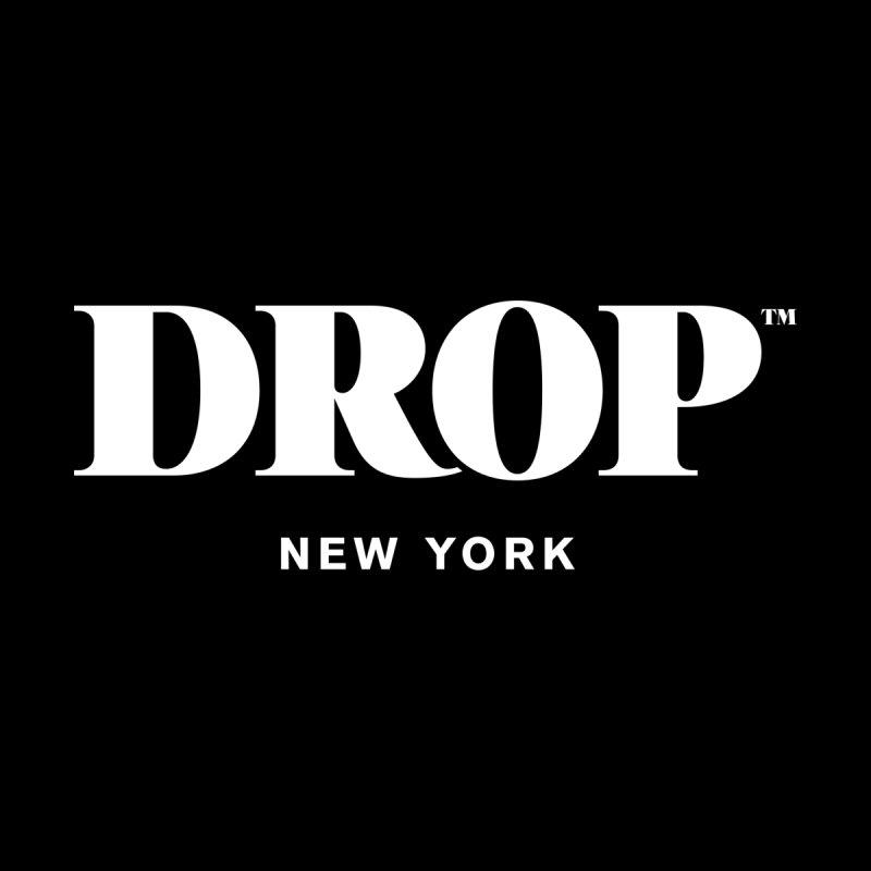 DROP Logo (White) Men's T-Shirt by DROP