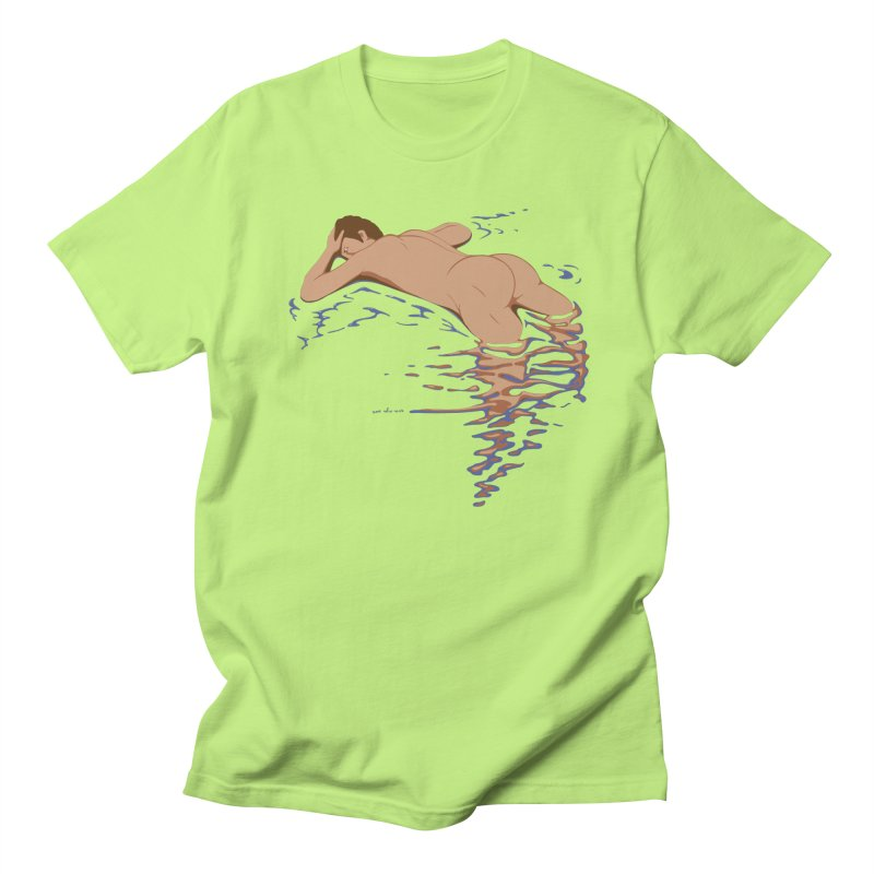 Man on water Women's Unisex T-Shirt by Dror Miler's Artist Shop