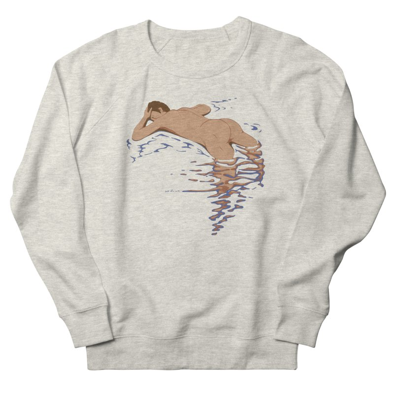 Man on water Women's Sweatshirt by Dror Miler's Artist Shop