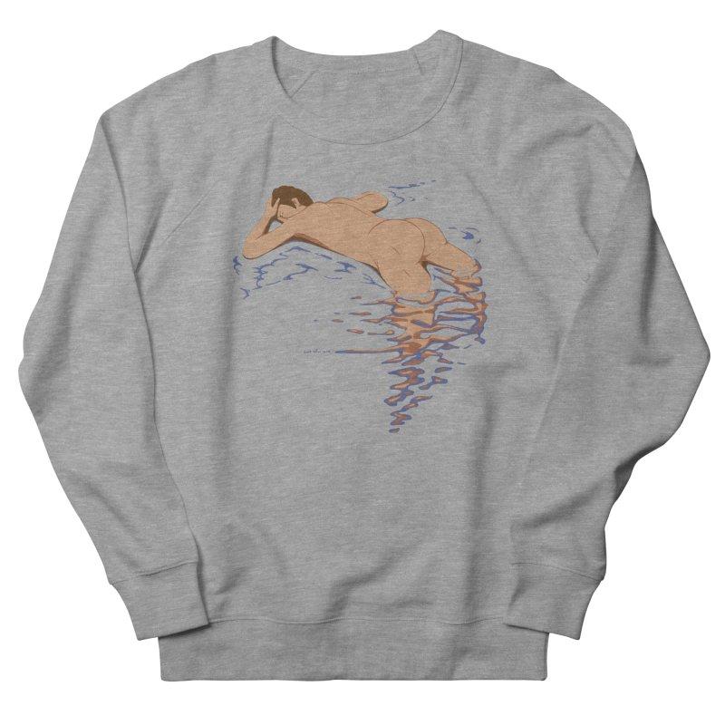 Man on water Men's Sweatshirt by Dror Miler's Artist Shop