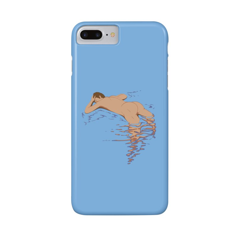 Man on water Accessories Phone Case by Dror Miler's Artist Shop