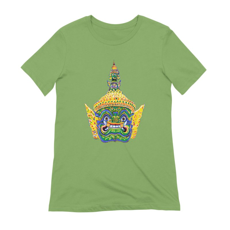 Ravana Women's Extra Soft T-Shirt by Dror Miler's Artist Shop