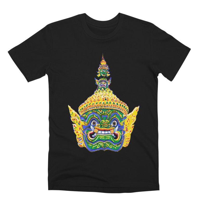 Ravana Men's Premium T-Shirt by Dror Miler's Artist Shop