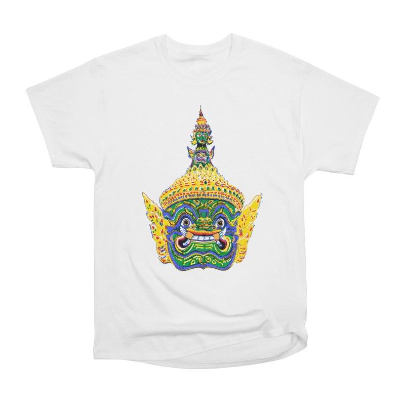 Ravana Women's Heavyweight Unisex T-Shirt by Dror Miler's Artist Shop
