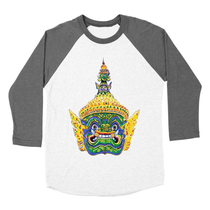 Ravana Women's Baseball Triblend Longsleeve T-Shirt by Dror Miler's Artist Shop