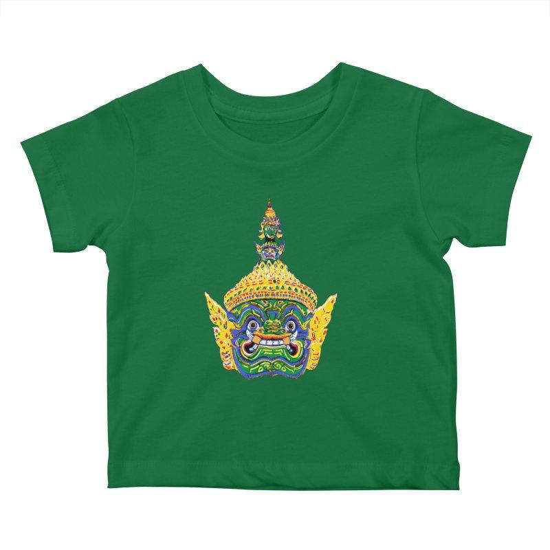 Ravana Kids Baby T-Shirt by Dror Miler's Artist Shop