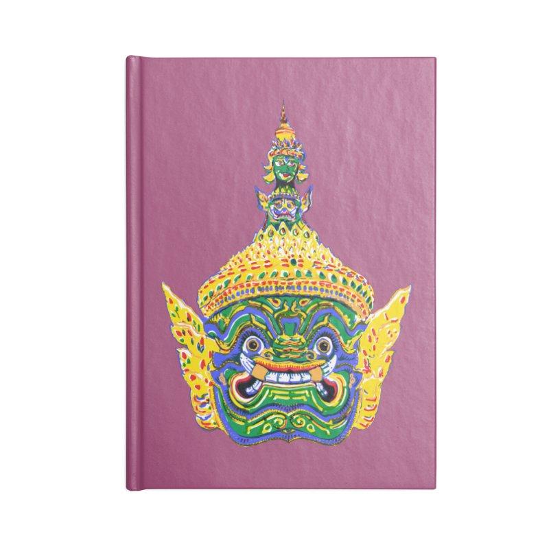 Ravana Accessories Lined Journal Notebook by Dror Miler's Artist Shop