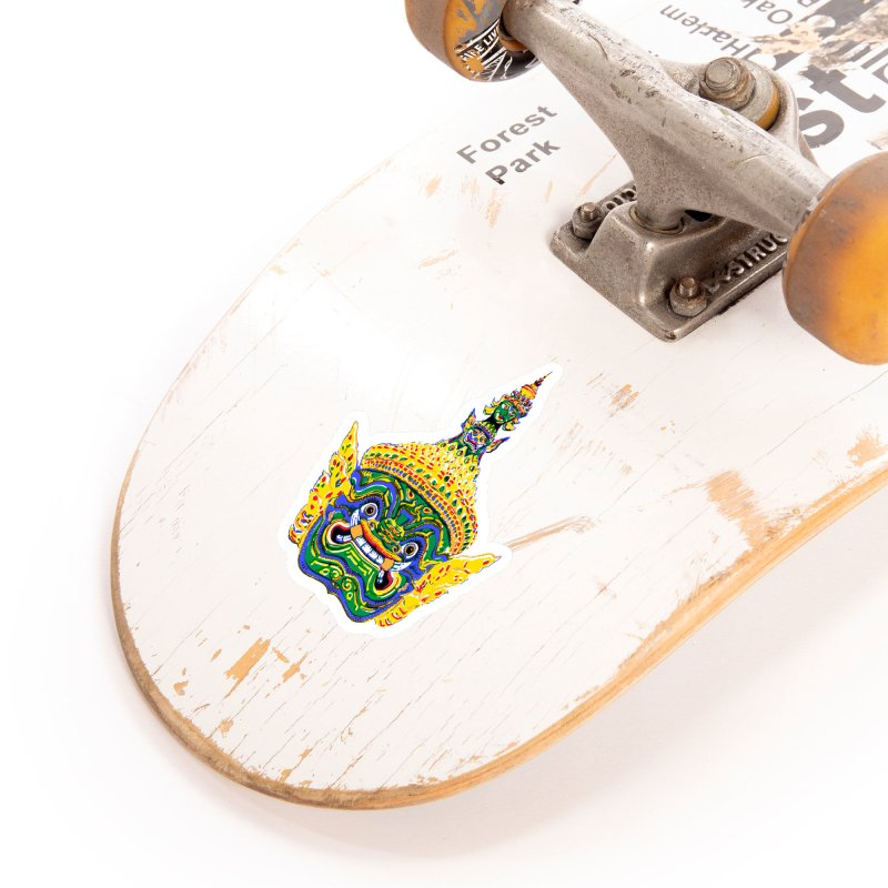 Ravana Accessories Sticker by Dror Miler's Artist Shop