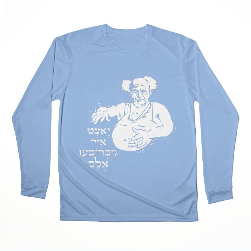 Ben Gurion -  Now you've ruined everything Women's Longsleeve T-Shirt by Dror Miler's Artist Shop
