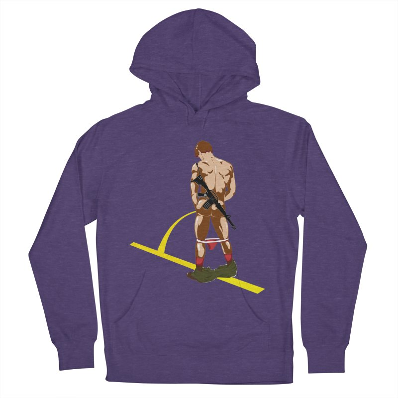 Pissing Soldier Women's Pullover Hoody by Dror Miler's Artist Shop