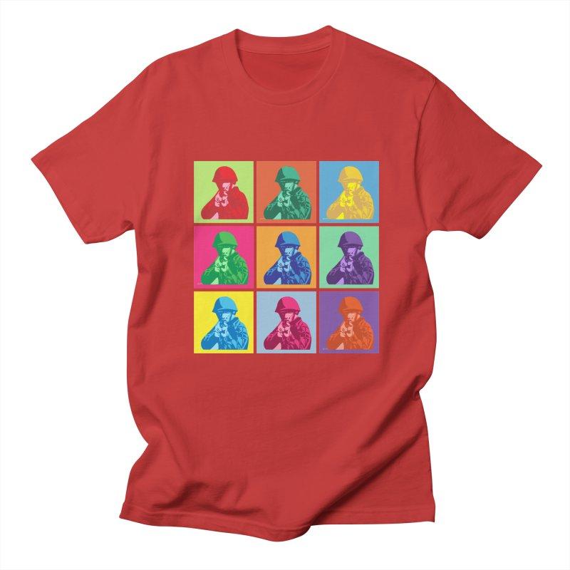 Nine Colored shoulder Targets Women's Unisex T-Shirt by Dror Miler's Artist Shop