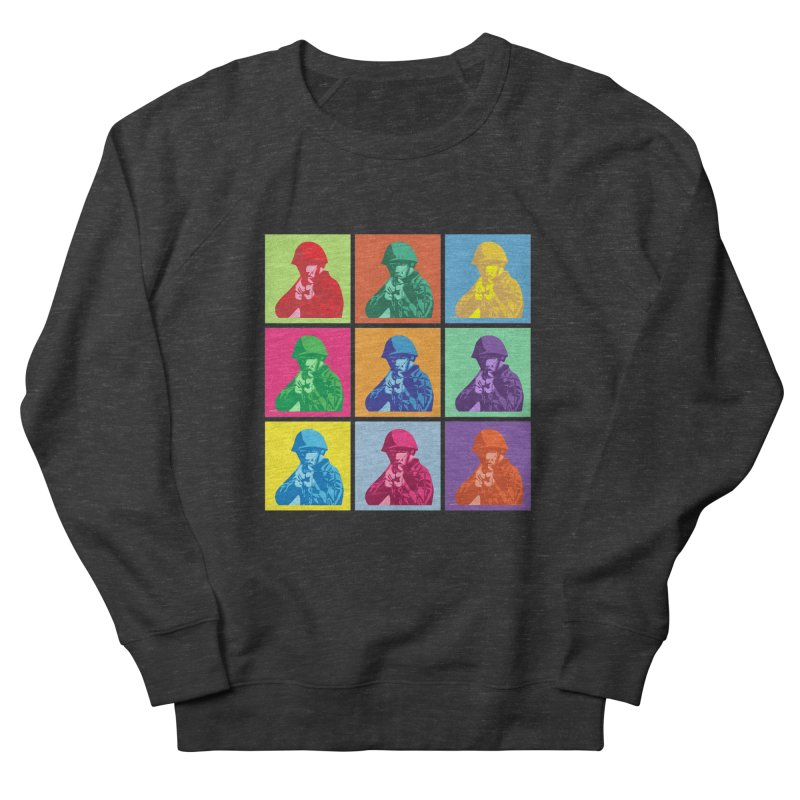 Nine Colored shoulder Targets Women's Sweatshirt by Dror Miler's Artist Shop