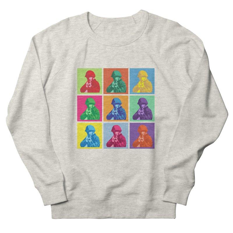 Nine Colored shoulder Targets Men's Sweatshirt by Dror Miler's Artist Shop
