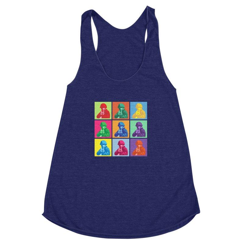 Nine Colored shoulder Targets   by Dror Miler's Artist Shop