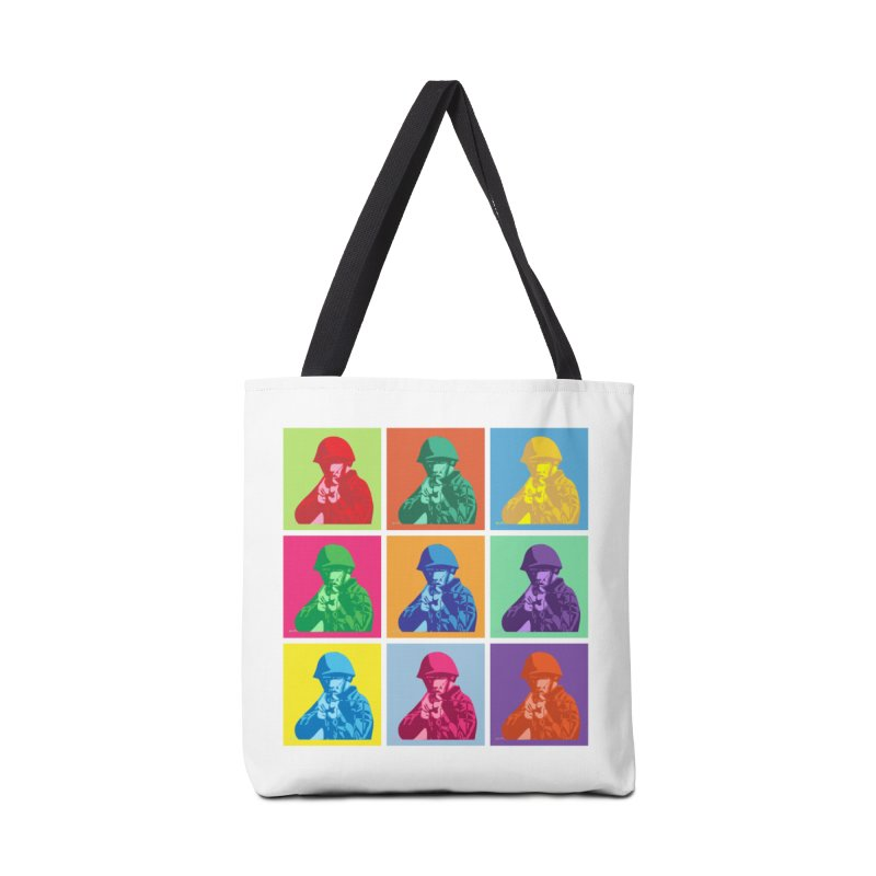 Nine Colored shoulder Targets Accessories Bag by Dror Miler's Artist Shop