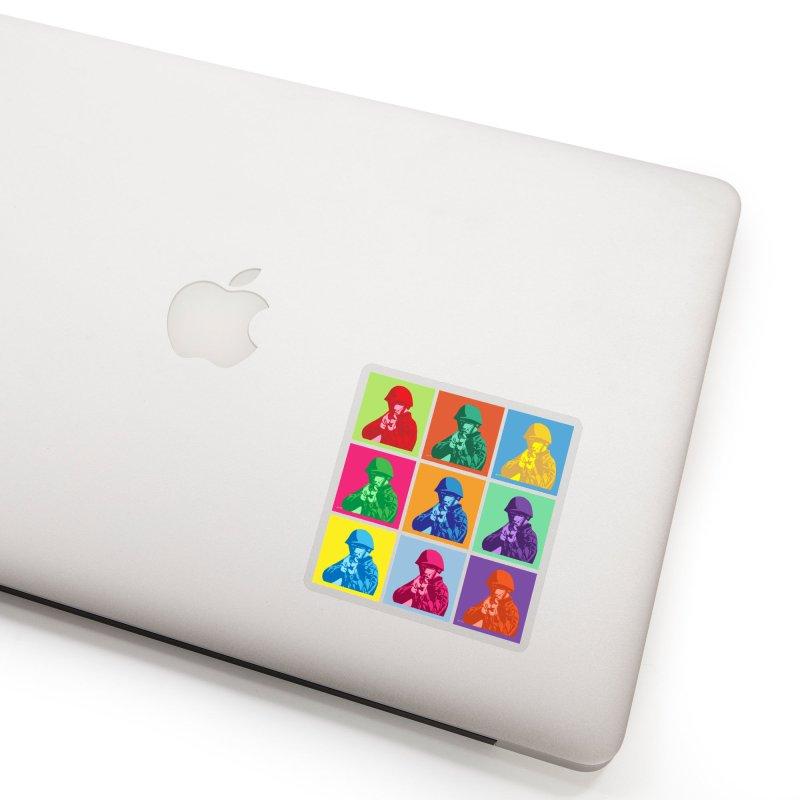 Nine Colored shoulder Targets Accessories Sticker by Dror Miler's Artist Shop