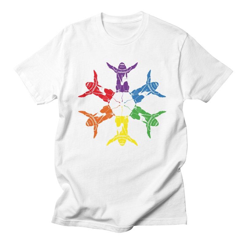 Pride lion (Tel hai roaring lion) Men's T-Shirt by Dror Miler's Artist Shop