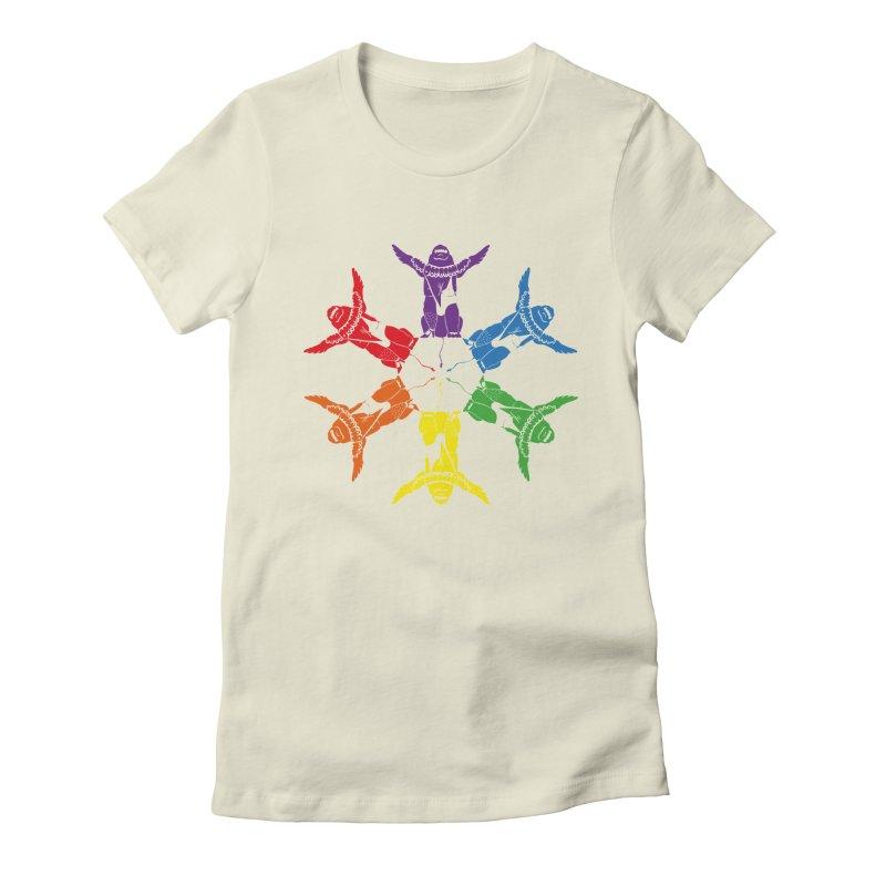 Pride lion (Tel hai roaring lion) Women's T-Shirt by Dror Miler's Artist Shop