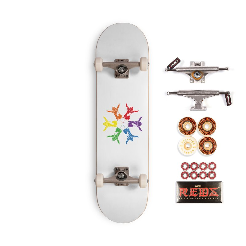 Pride lion (Tel hai roaring lion) Accessories Skateboard by Dror Miler's Artist Shop