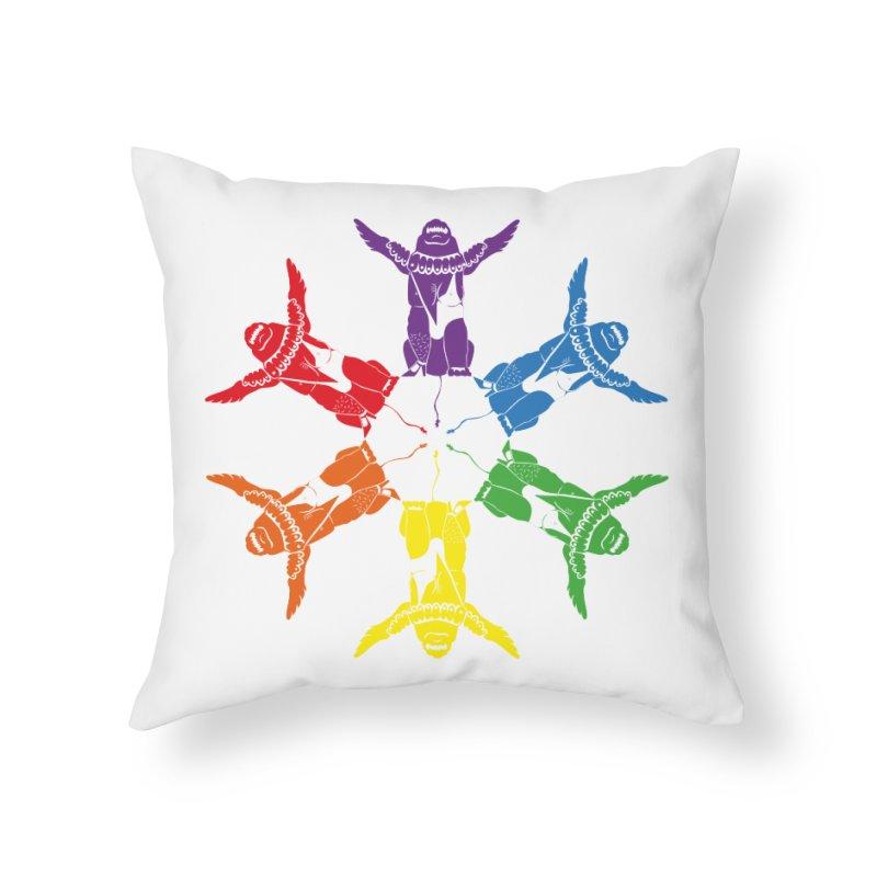 Pride lion (Tel hai roaring lion) Home Throw Pillow by Dror Miler's Artist Shop