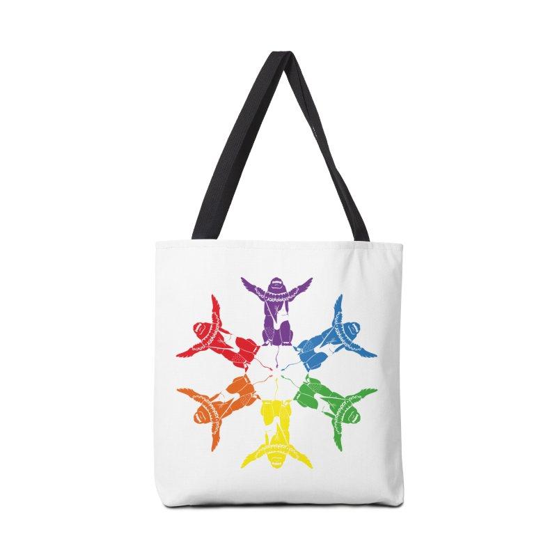 Pride lion (Tel hai roaring lion) Accessories Bag by Dror Miler's Artist Shop