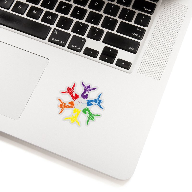 Pride lion (Tel hai roaring lion) Accessories Sticker by Dror Miler's Artist Shop