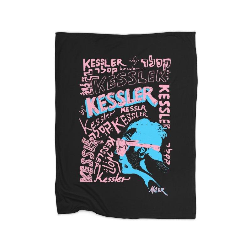 Kessler Ho Kessler Home Blanket by Dror Miler's Artist Shop