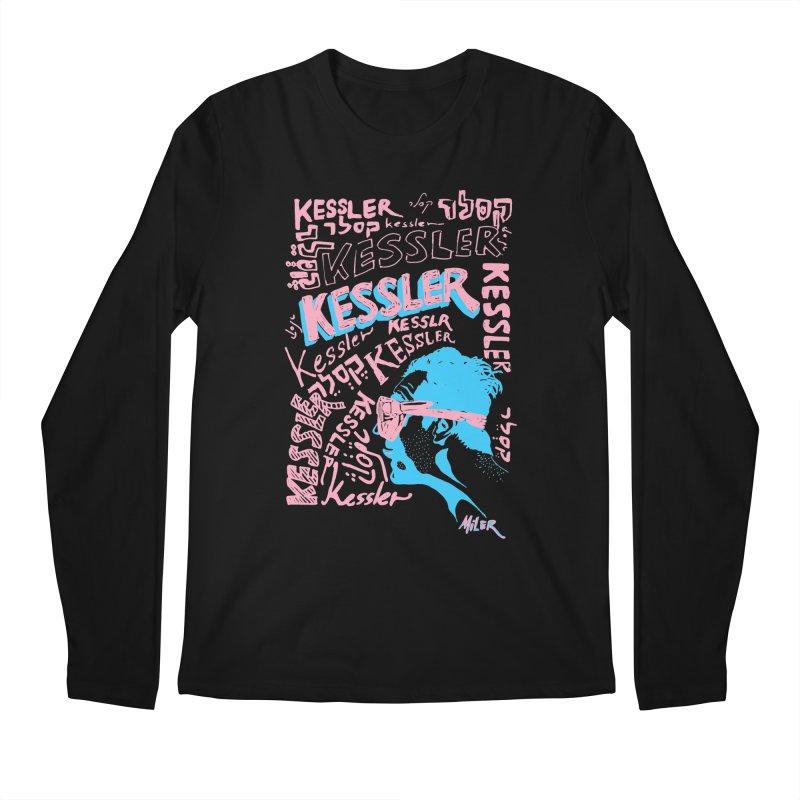 Kessler Ho Kessler Men's Longsleeve T-Shirt by Dror Miler's Artist Shop