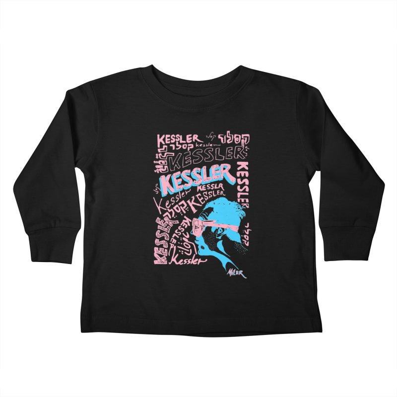 Kessler Ho Kessler Kids Toddler Longsleeve T-Shirt by Dror Miler's Artist Shop