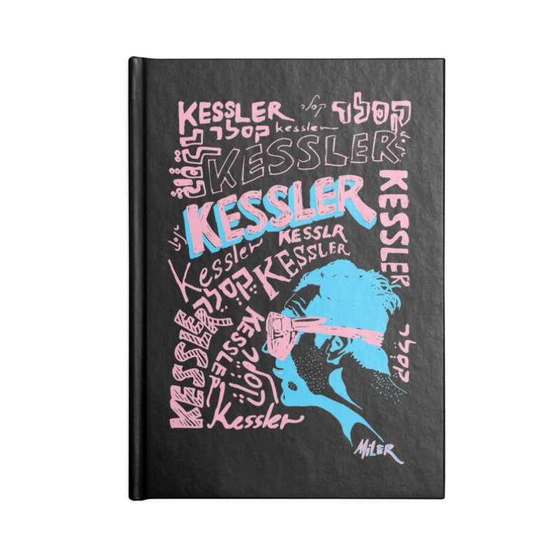 Kessler Ho Kessler Accessories Notebook by Dror Miler's Artist Shop