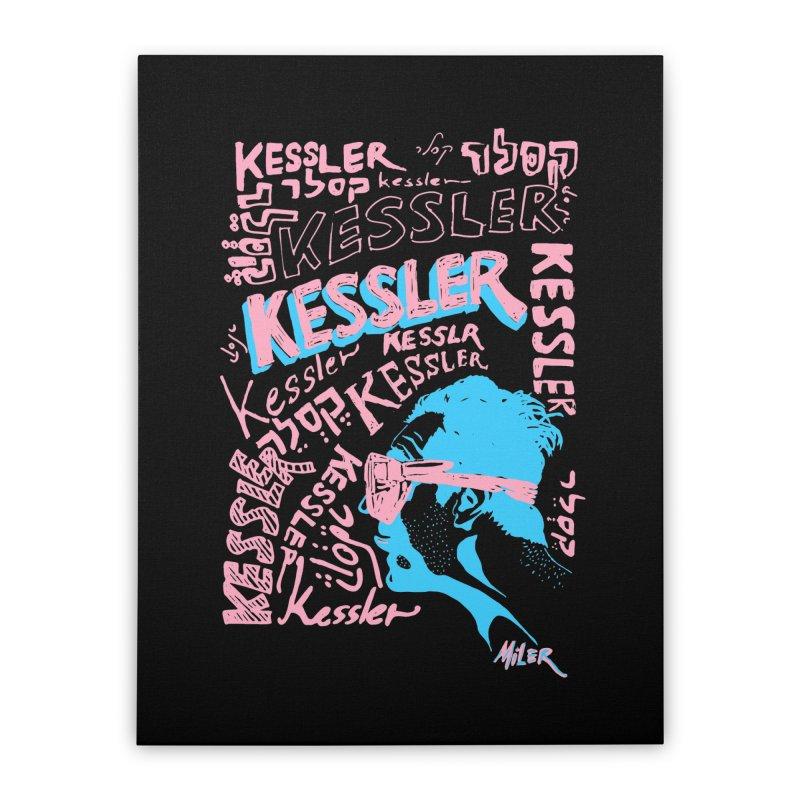 Kessler Ho Kessler Home Stretched Canvas by Dror Miler's Artist Shop