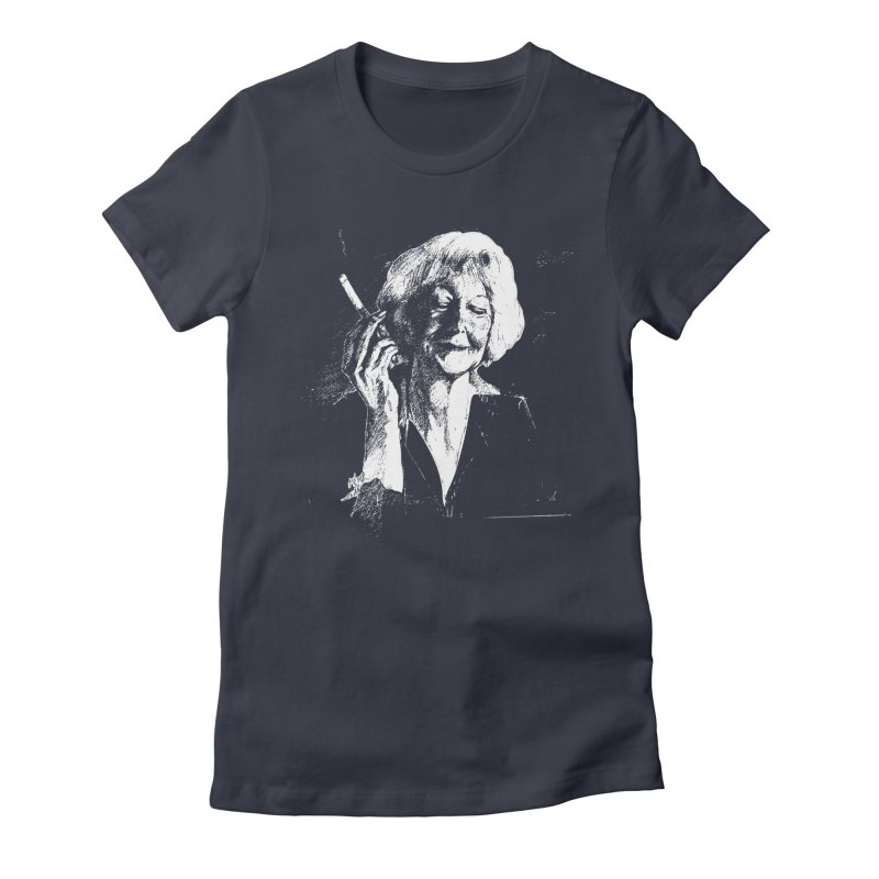 WISLAWA Women's Fitted T-Shirt by Dror Miler's Artist Shop