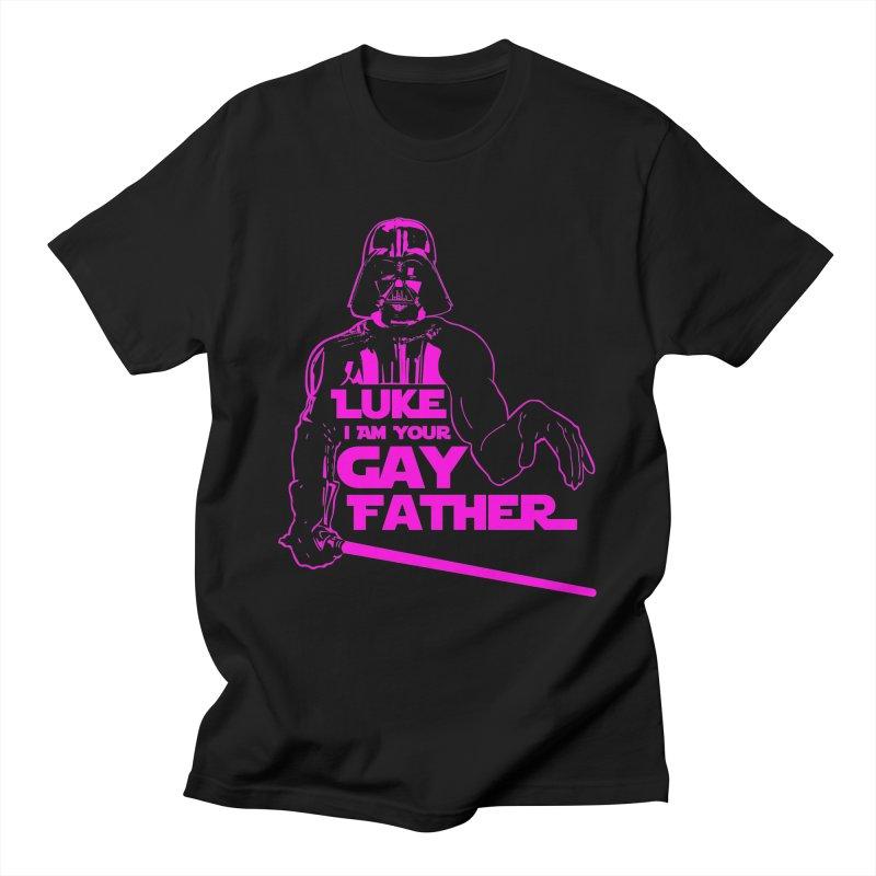 Gay Vader Men's T-Shirt by Dror Miler's Artist Shop