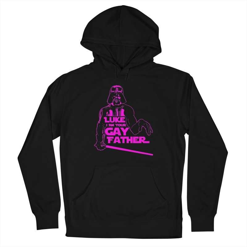 Gay Vader Women's Pullover Hoody by Dror Miler's Artist Shop