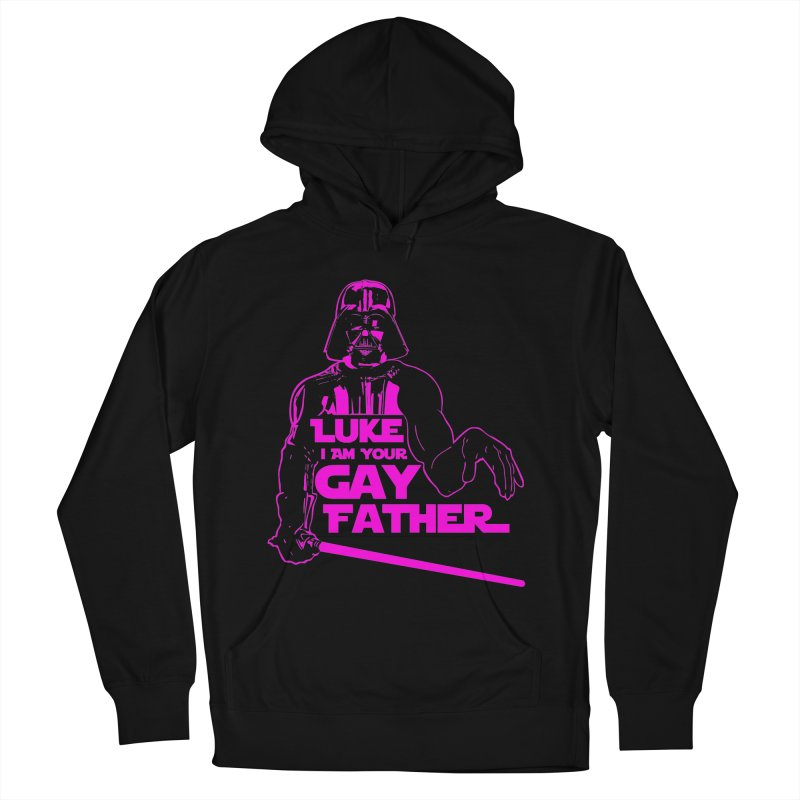 Gay Vader Men's Pullover Hoody by Dror Miler's Artist Shop