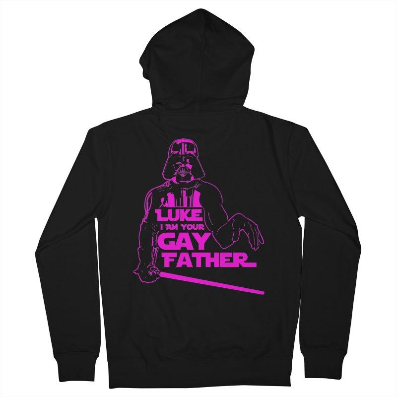 Gay Vader Women's Zip-Up Hoody by Dror Miler's Artist Shop