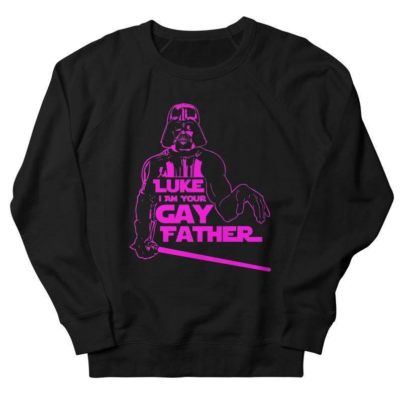 Gay Vader Men's Sweatshirt by Dror Miler's Artist Shop