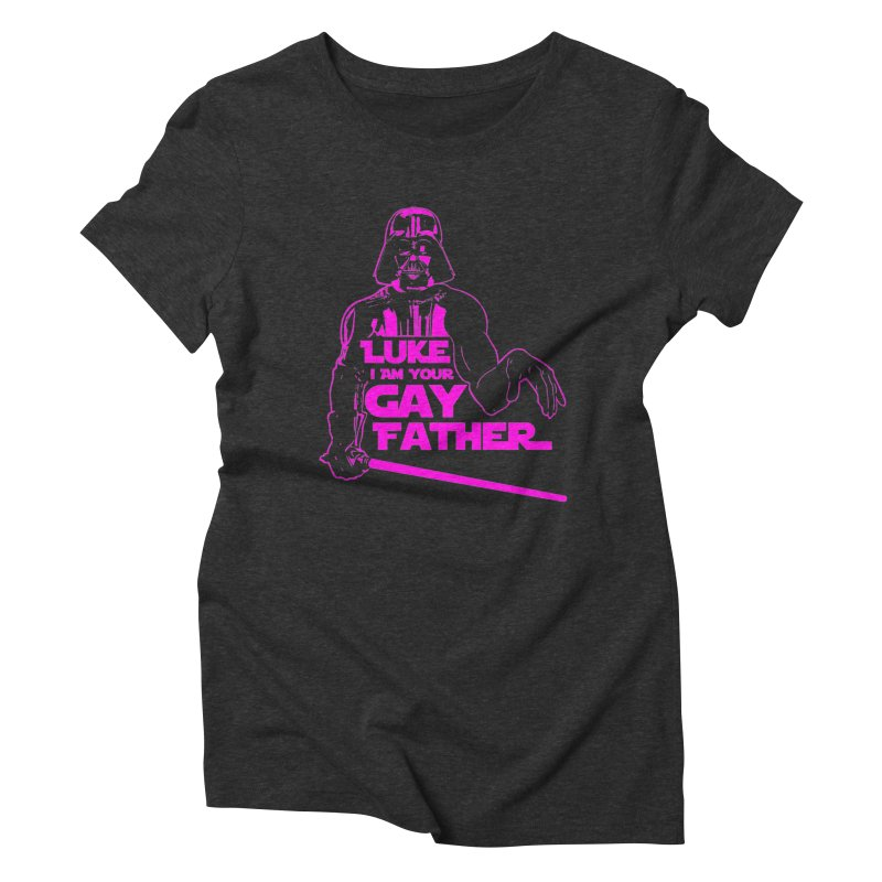 Gay Vader Women's T-Shirt by Dror Miler's Artist Shop