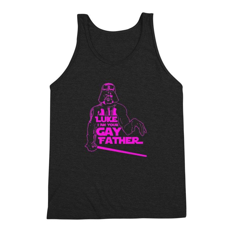 Gay Vader Men's Triblend Tank by Dror Miler's Artist Shop