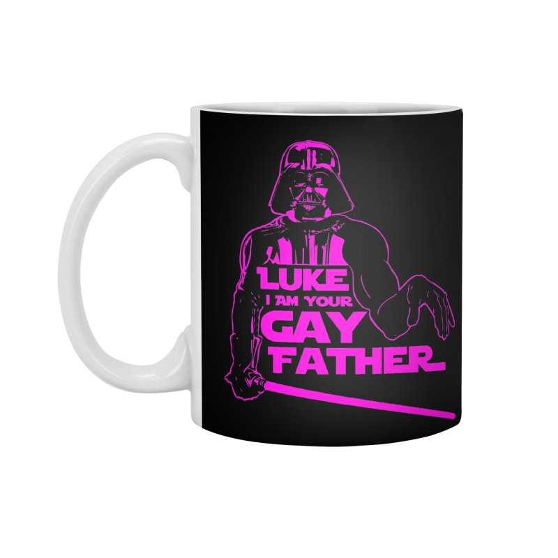 Gay Vader Accessories Mug by Dror Miler's Artist Shop