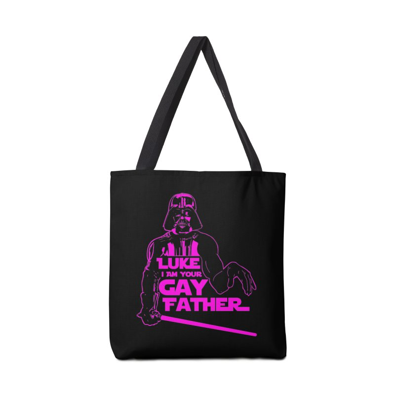 Gay Vader Accessories Bag by Dror Miler's Artist Shop