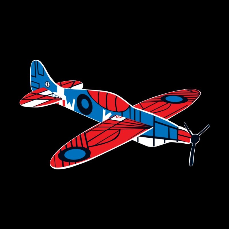 Styrofoam airplane Men's T-shirt by Dror Miler's Artist Shop