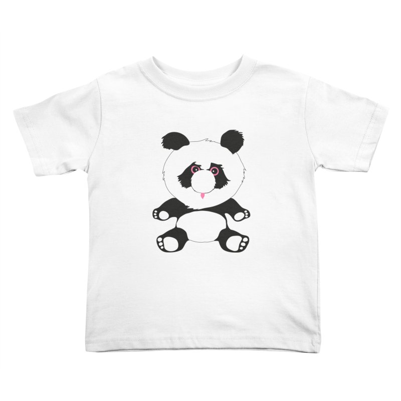 Panda Kids Toddler T-Shirt by Dror Miler's Artist Shop